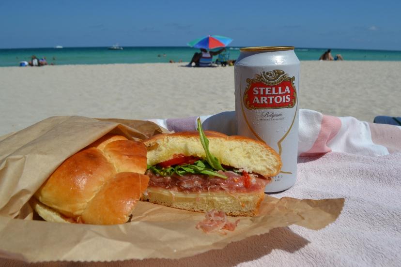 sendvič i pivo